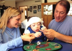 Jill and Jim Kelly with Hunter
